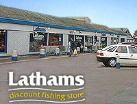 Lathams Discount Fishing Store at Potter Heigham