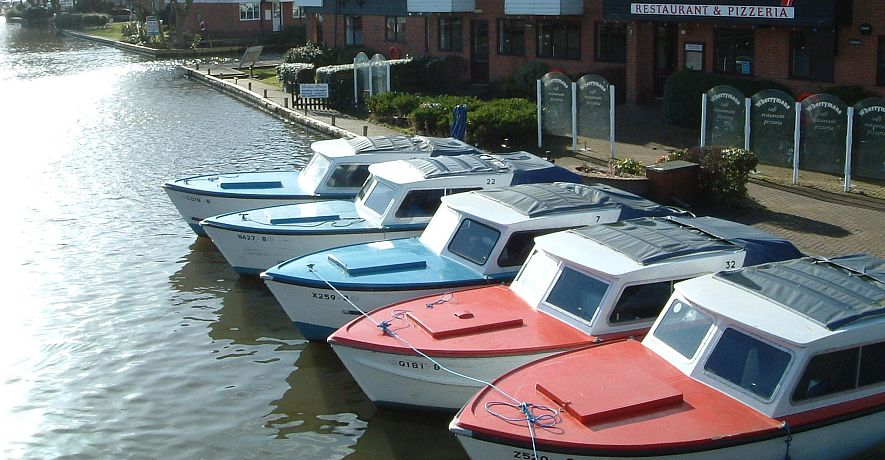 Dayboats can be moored directly alongside your cottage for the duration of your holiday