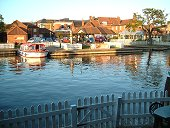 Wroxham Sunset From Anchor